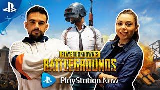 Jugamos a PUBG con SUSCRIPTORES en PS NOW | Conexión PlayStation