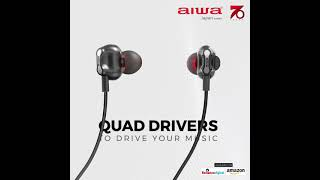 Aiwa India || ESBT-460 Quad Driver Haptic Feedback