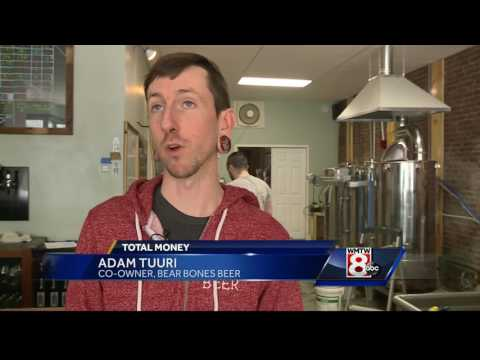 Craft beer brewing life into Maine economy