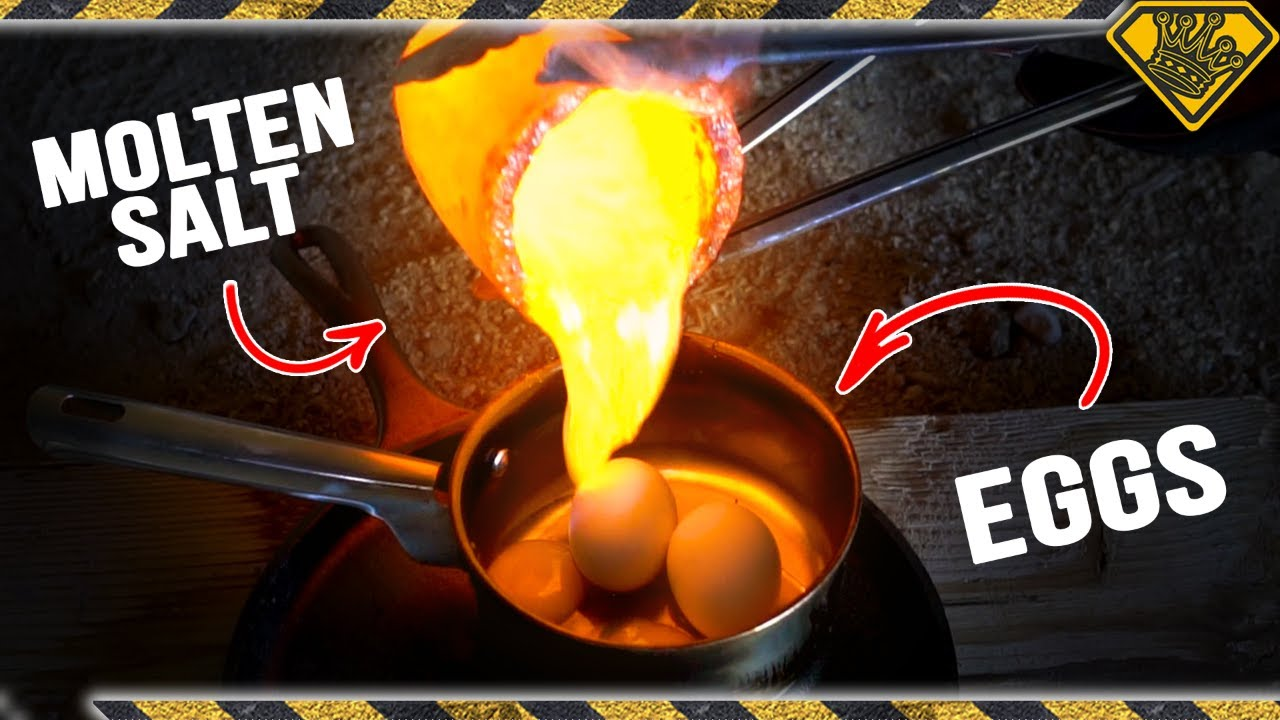 Molten Salt vs Eggs