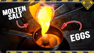 Molten Salt vs Eggs