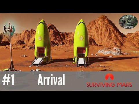Surviving Mars - Arrival (Episode 1)