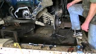 видео Замена передних пружин ВАЗ 2107, своими руками
