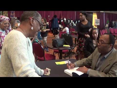 Author Ardain Isma at the Ritz Theater in Jacksonville, Florida
