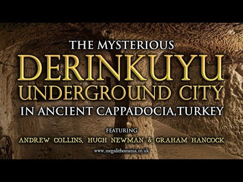 The Mysterious Derinkuyu Underground City In Ancient Cappadocia, Turkey - 10,000 BC | Megalithomania