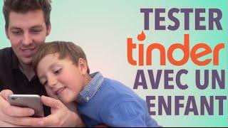 Tester Tinder avec un enfant
