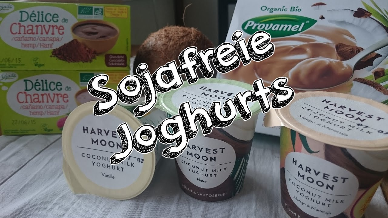 vegane joghurtalternativen ohne soja kokosjoghurt und hanfjoghurt superlecker youtube. Black Bedroom Furniture Sets. Home Design Ideas