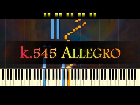 Piano Sonata No. 16, K.545 (1st mvt) // MOZART