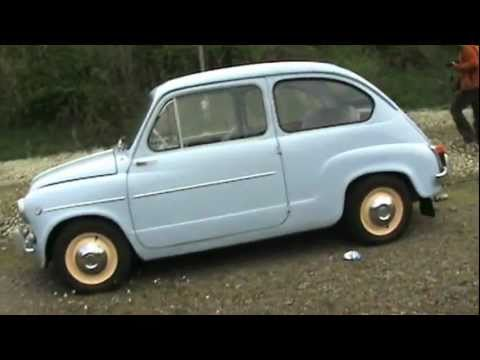 Zastava 750 / Fiat 600 after restore - YouTube