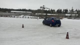 Зимний Базовый авто тренинг. Обучение безопасному вождению в экстремальных условиях.