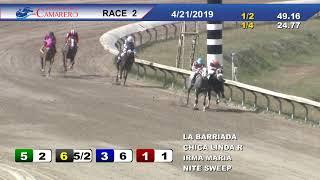 Carrera 2 21/Abril/2019 (CHICA LINDA R)