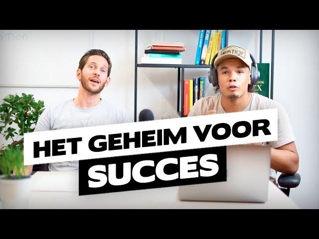 HET GEHEIM VOOR SUCCES?! - Podcast met Jaap Hulsmann