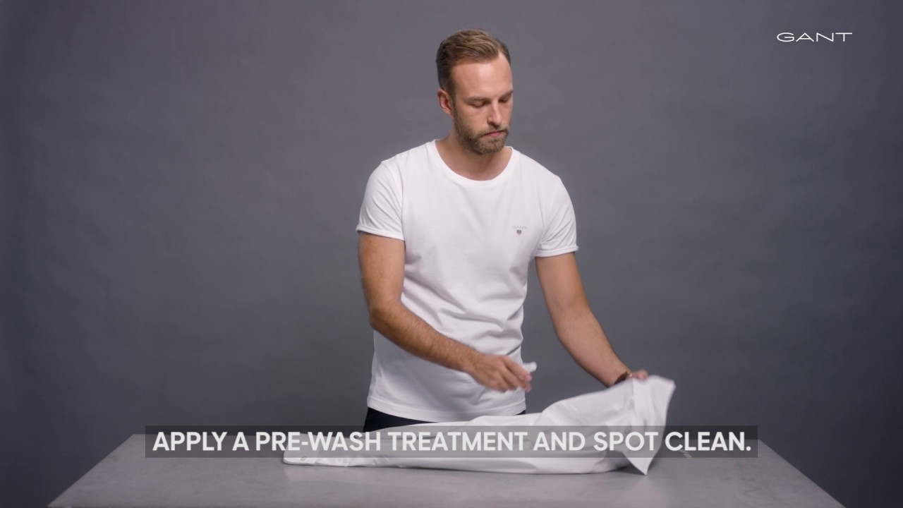 How to wash a shirt 53
