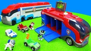 Download Paw Patrol Spielzeug Kinderfilm: Spielzeugautos, Feuerwehrautos, Müllwagen, Bagger & Polizeiautos Mp3 and Videos