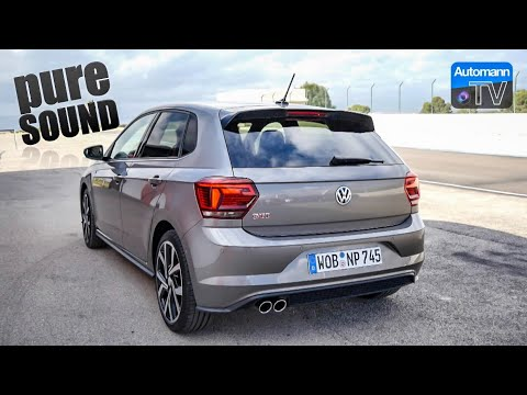 2018 VW Polo GTI (200hp) - pure SOUND (60FPS)