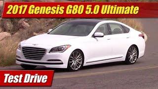 2017 Genesis G80 5.0 Ultimate Test Drive