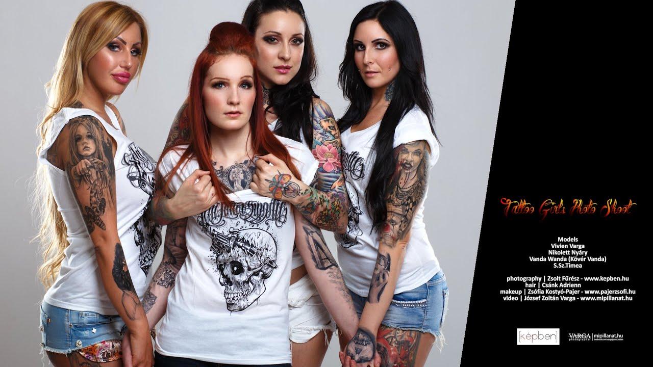 Angela Mazzanti Naked tattoo girls photo shoot | werk - mipillanat.hu