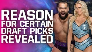 Reasons For Several WWE Raw/SmackDown Draft Picks | NJPW Wrestle Kingdom 14 Main Event Revealed