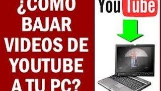 programa para descargar musica y videos de youtube (1 link)