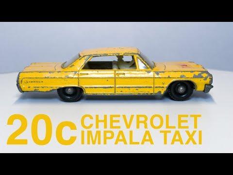 Matchbox 20c Chevrolet Impala Taxi - Full Restoration