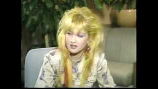 One on One with Cyndi Lauper (1986 interview)