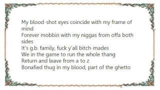 Geto Boys - Thugg Niggaz Lyrics