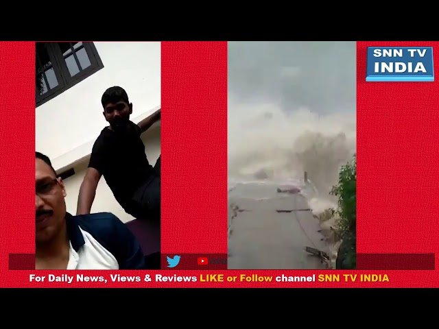Kerala Flood : Amazing Rescue of a new born & devastating flood