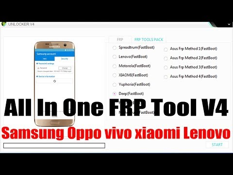 Samsung Vivo xiaomi Frp Pattern Unlock Tool (3in one) 2019