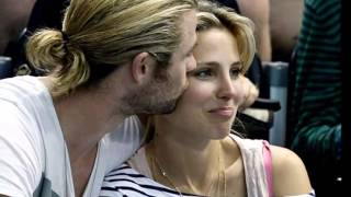 Chris Hemsworth & Elsa Pataky kissing compilation