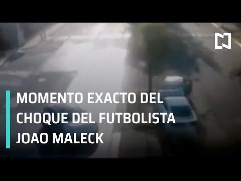 Choque de Joao Maleck; accidente de Joao Maleck - En Punto con Denise Maerker