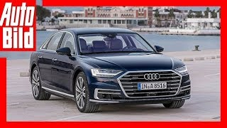 Erste Fahrt im neuen Audi A8 /Details/Review/First Drive/Fahrbericht