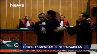 Hercules Marah-marah Jelang Sidang Vonis di PN Jakbar - iNews Sore 27/03