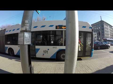 PUBLIC TRANSPORT IN TALLINN, ESTONIA - TROLLEYBUS
