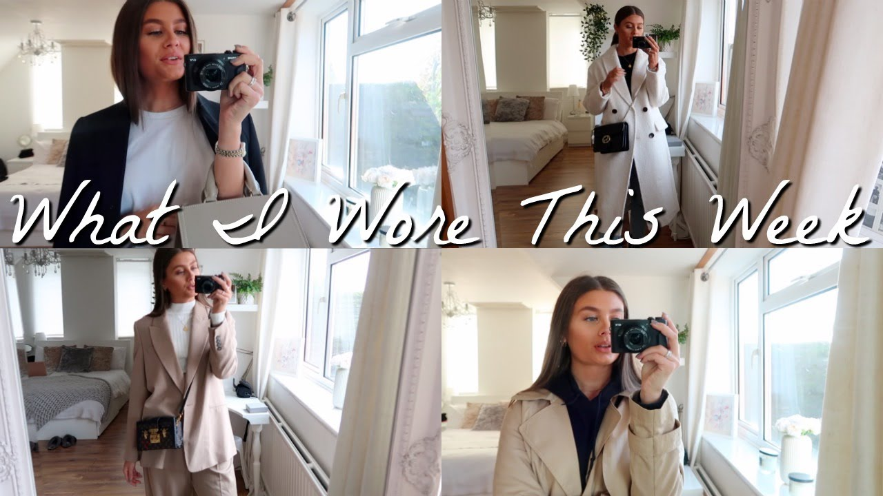 [VIDEO] - What I Wore In A Week | 9 Autumn Outfits | AMY-BETH 2