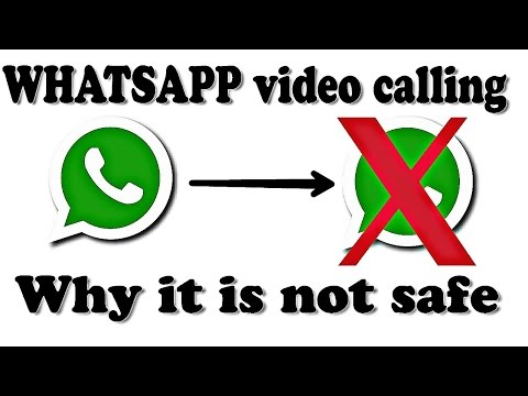 Be careful while using whatsapp || video calling feature is very dangerous!!