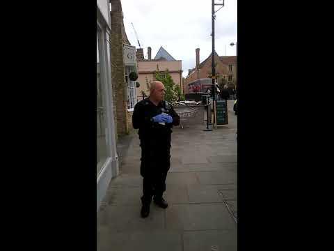 PCs 1145 Joseph and 1158 Williams arrest a man (part one)