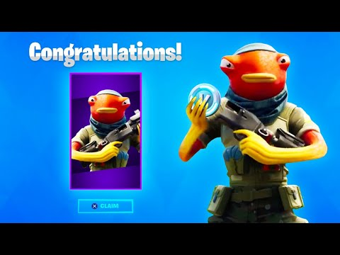 HOW TO GET NEW FISHSTICK STYLE IN FORTNITE! (Fishstick New Style)
