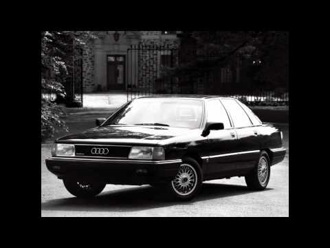 Audi 100 c3. The Legent started...