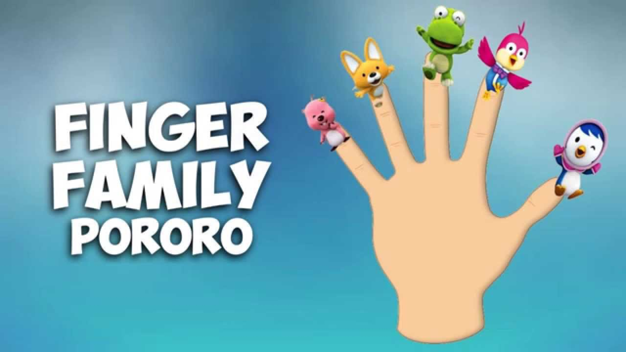 Daddy Finger Family Song Pororo Nursery Rhymes For