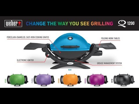 weber q1000 vs q1200 gas grill first impressions youtube. Black Bedroom Furniture Sets. Home Design Ideas