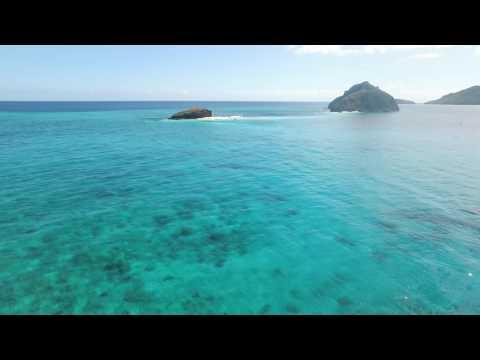 Mayotte via drone