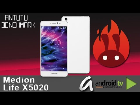 Medion Life X5020 AnTuTu Benchmarktest by android tv