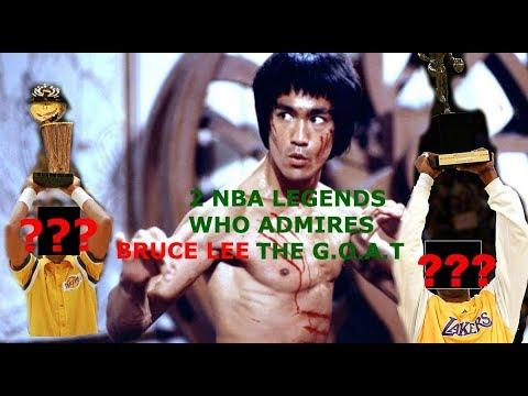 2 NBA Legends Who IDOLIZES Bruce Lee