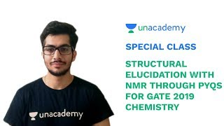Special Class - GATE Chemistry - Structural Elucidation with NMR through PYQs - A Sethi