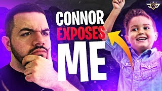 CONNOR EXPOSES ME!!! - Coolest Kid Ever! (Fortnite: Battle Royale)