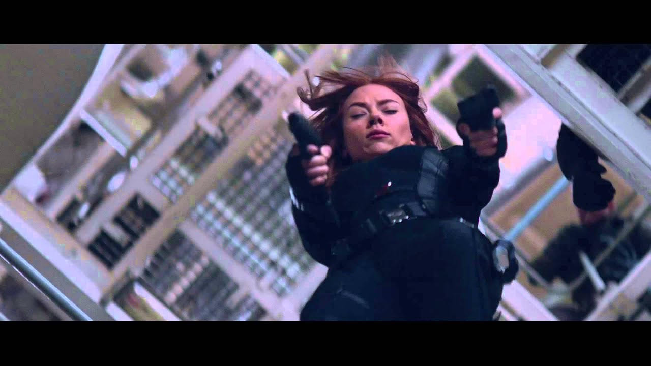 Captain America The Winter Soldier Meet Black Widow Official Marvel Hd