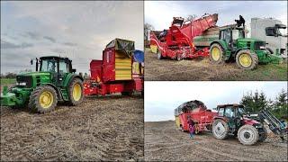 120 Hektarów Ziemniaków vs 2x Grimme ! Wykopki 2018 |John Deere & Case