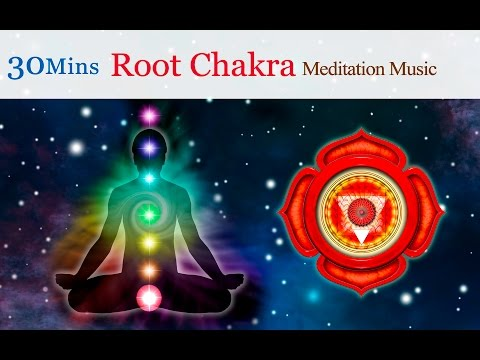 ★30mins★Tibetan Singing Bowls Meditation Music for Chakra Healing : Root Chakra(for Perseverance)