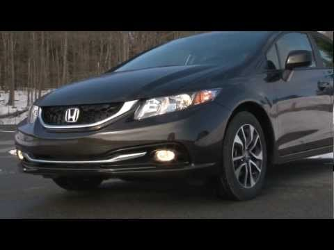 2013 Honda Civic - Drive Time Review with Steve Hammes