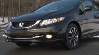 2013 Honda Civic - Drive Time Review with Steve Hammes | TestDriveNow